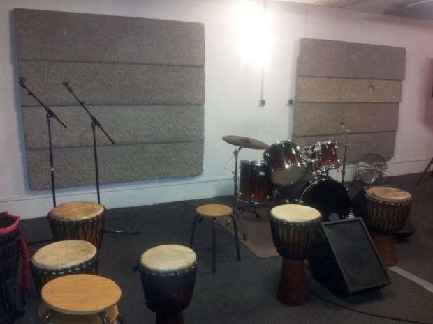 Le studio de musique de Jean-Claude Nardone